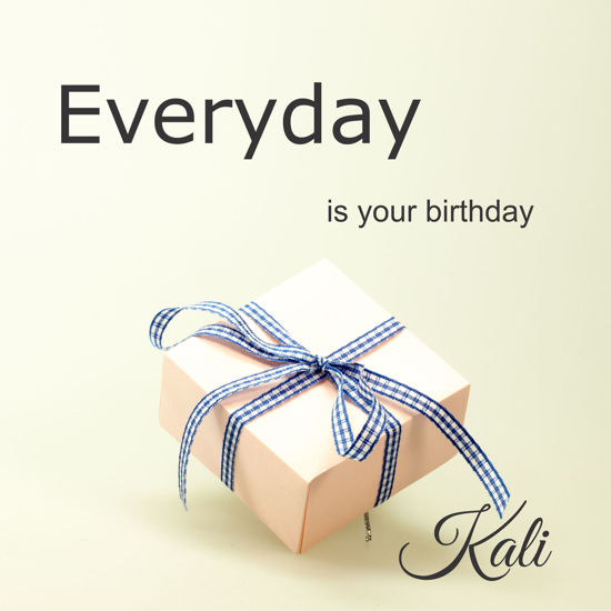 Everyday Is Your Birthday Cover