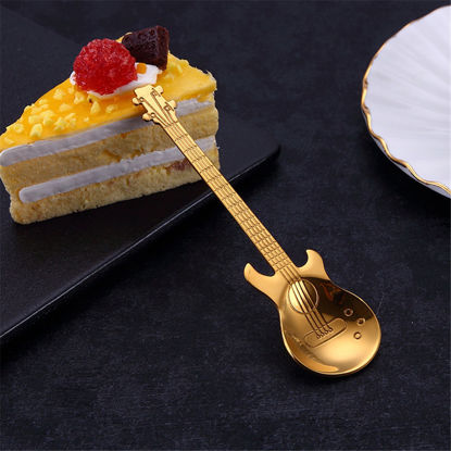 Gold Guitar Spoon