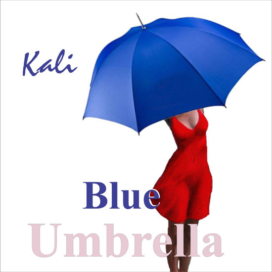 Blue Umbrella by Kali