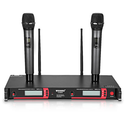 Picture of Dual Channel UHF Wireless Microphone Set
