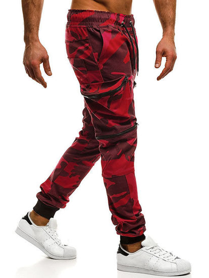 Picture of Camouflage Pockets Cargo Jogger Pants